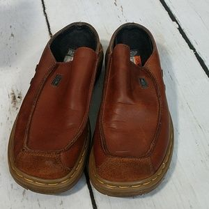 Dr Martens Leather Slip-On Shoes